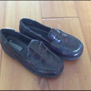 Kenneth Cole Cordovan penny loafers shoes